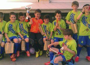Campeones de Serigrafía Portal. Comprometidos con el deporte infantil.